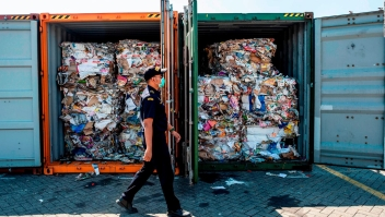 #ElDatoDeHoy: Indonesia devolverá basura a Australia