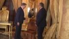 El regalo de un campesino al presidente de Panamá, Laurentino Cortizo