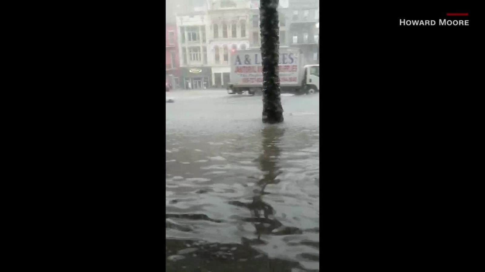 Severas inundaciones en Nueva Orleans