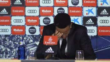 Militao se fue de su presentación con el Madrid por un mareo