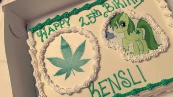 Pidió un pastel de Moana, y le entregaron esto