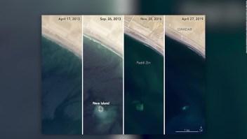 #ElDatoDeHoy: desaparece isla en Pakistán