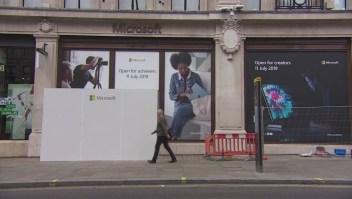 Así es la nueva tienda de Microsoft en Londres