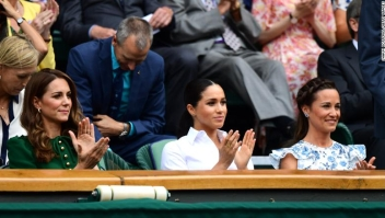 Catalina Middleton, Pippa Middleton, Meghan Markle, Wimbledon