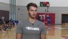 El periplo de Santiago Vescovi a las academias de la NBA