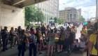 Protestas contra la deportación frente a ICE en Washington