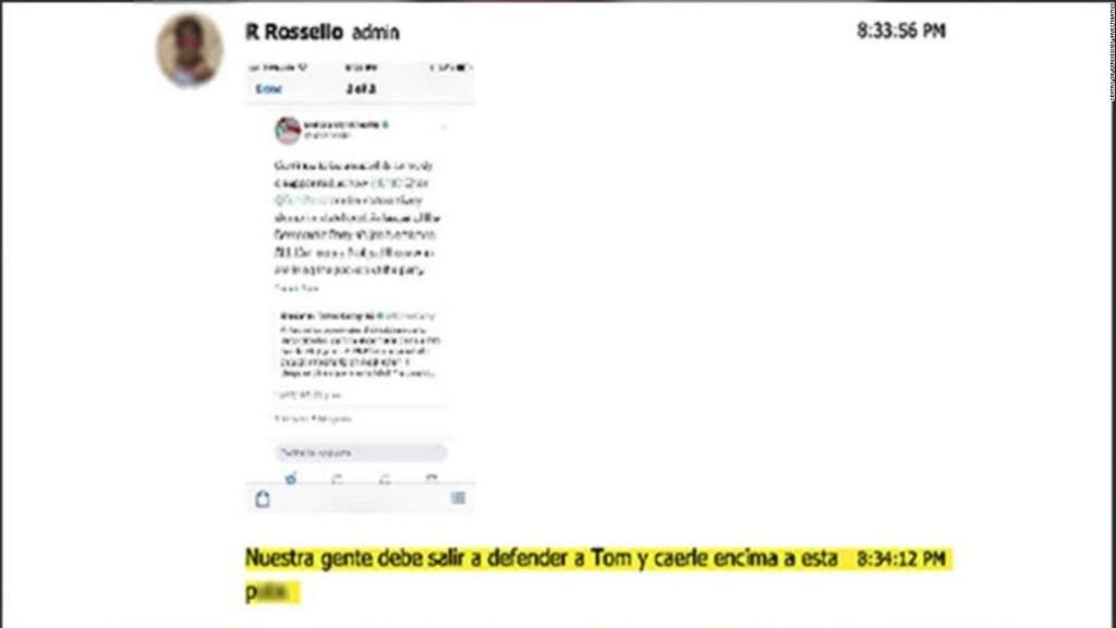 Estas son las burlas y ofensas del chat de Ricardo Rosselló