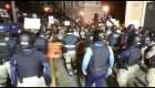 La protesta contra Rosselló continúa de madrugada