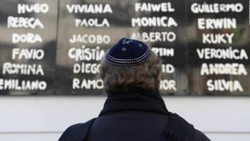 AMIA: Suenan las sirenas en memoria de las víctimas