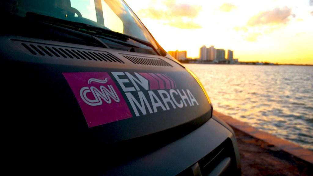 En marcha por el sur de la Florida en EE.UU.