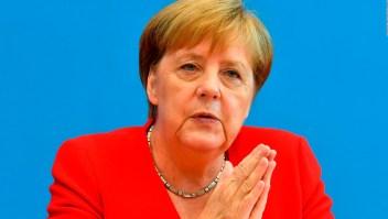 Merkel se solidariza con las congresistas atacadas por Trump