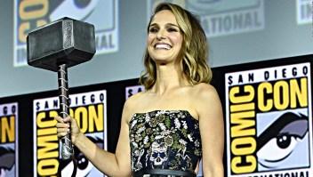 """Natalie Portman, la """"Thor"""" femenina de Marvel"""