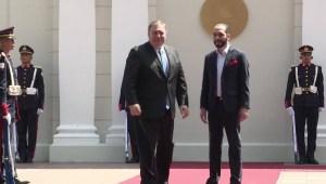 EE.UU. y El Salvador se reúnen para hablar de la migración