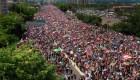 Las protestas masivas en Puerto Rico vistas con un dron