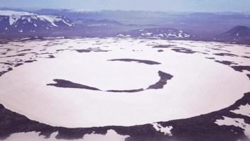 Un glaciar en Islandia se convierte en hielo muerto
