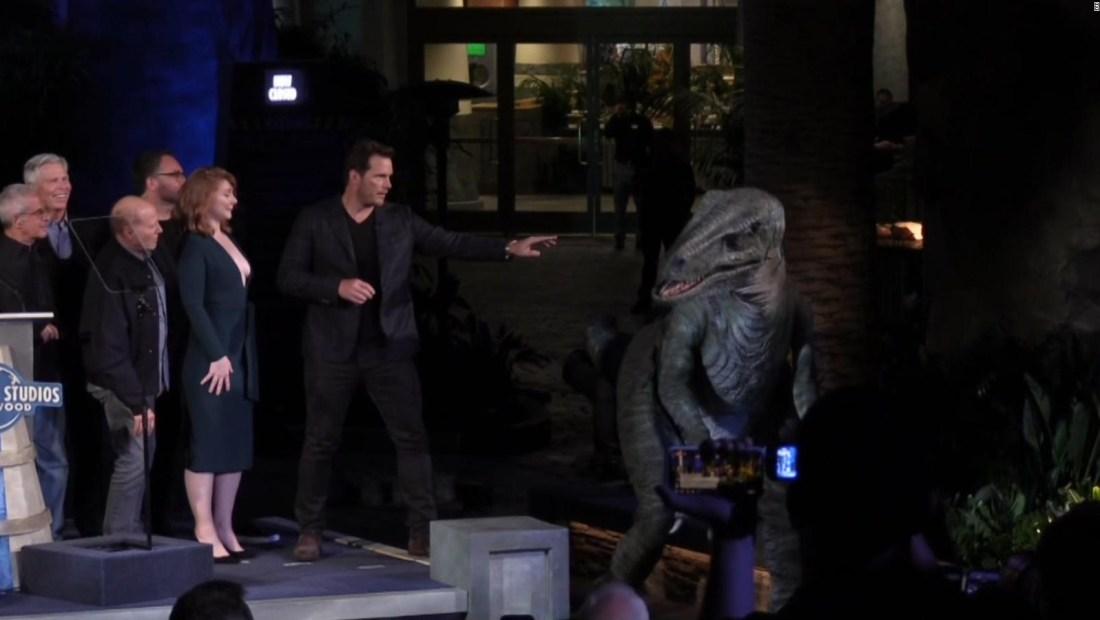 Nuevos dinosaurios pisan Universal Studios