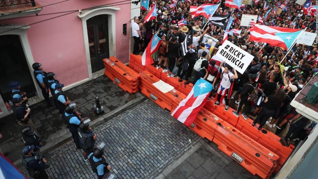 Los puertorriqueños se preguntan: ¿renunciará Ricardo Rosselló?