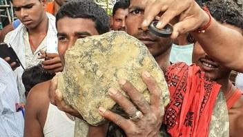 Cae supuesto meteorito en el este de India