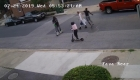 Graban brutal ataque contra empleado policial
