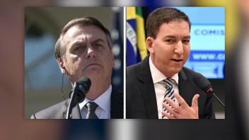Glen Greenwald publica mensajes que incomodan a la administración de Bolsonaro