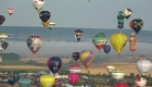 Se quedan cortos en alcanzar marca mundial de globos aerostáticos en Francia