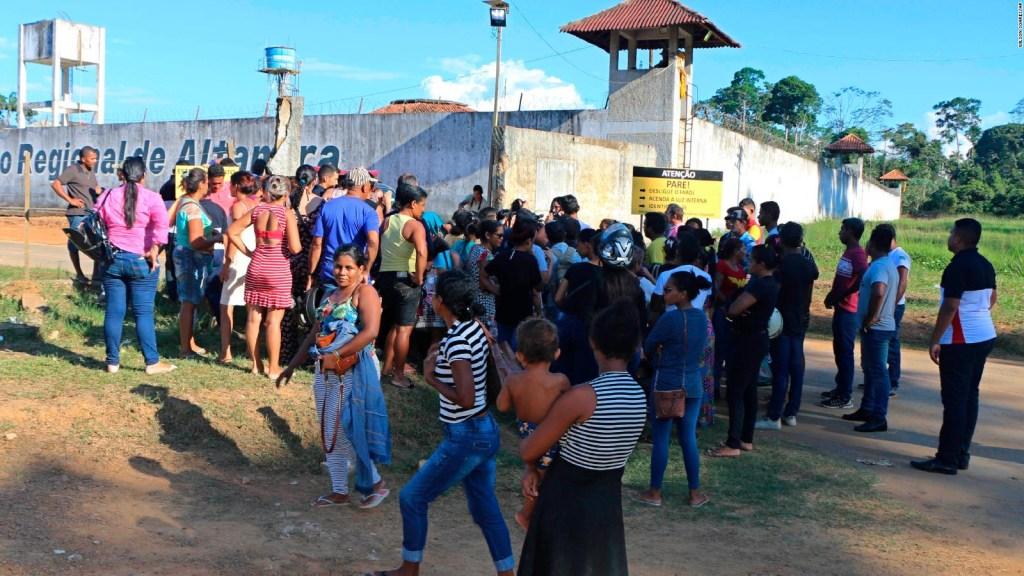 Decapitaciones y decenas de muertes en cárcel de Brasil