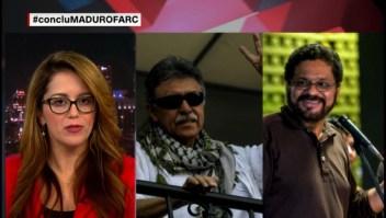 """¿Qué estarían haciendo """"Jesús Santrich"""" e """"Iván Márquez"""" en Venezuela?"""