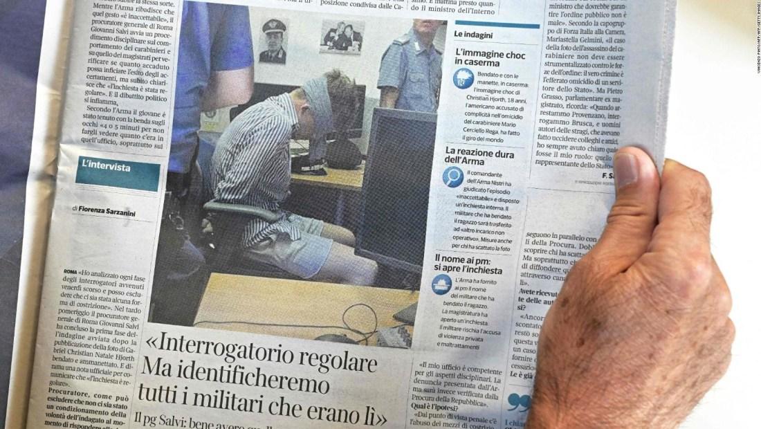 Indicios apuntan a jóvenes estadounidenses en muerte de policía italiano