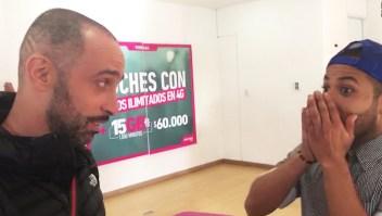 La invitación de Camila a cantante callejero venezolano