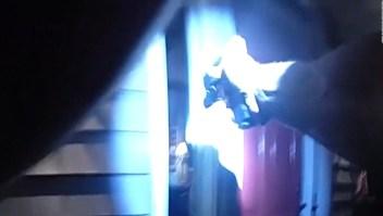 Hombre fue baleado por la policía en su propio hogar