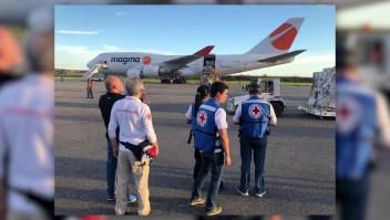Venezuela recibe ayuda humanitaria italiana