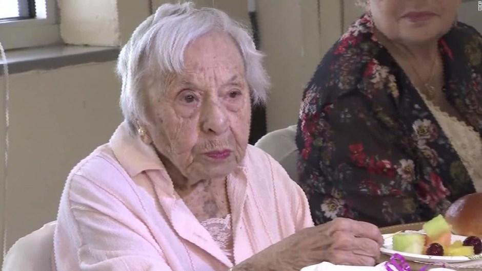Mujer 107 años secreto longevidad es que nunca se casó