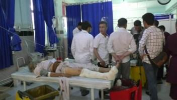 Mueren al menos 34 personas tras explosión en Afganistán