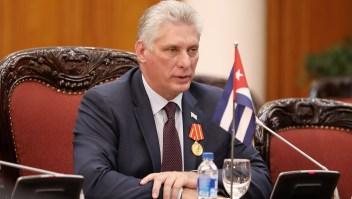 El presidente de Cuba, Miguel Díaz-Canel, lamentó la muerte del embajador de Paraguay.