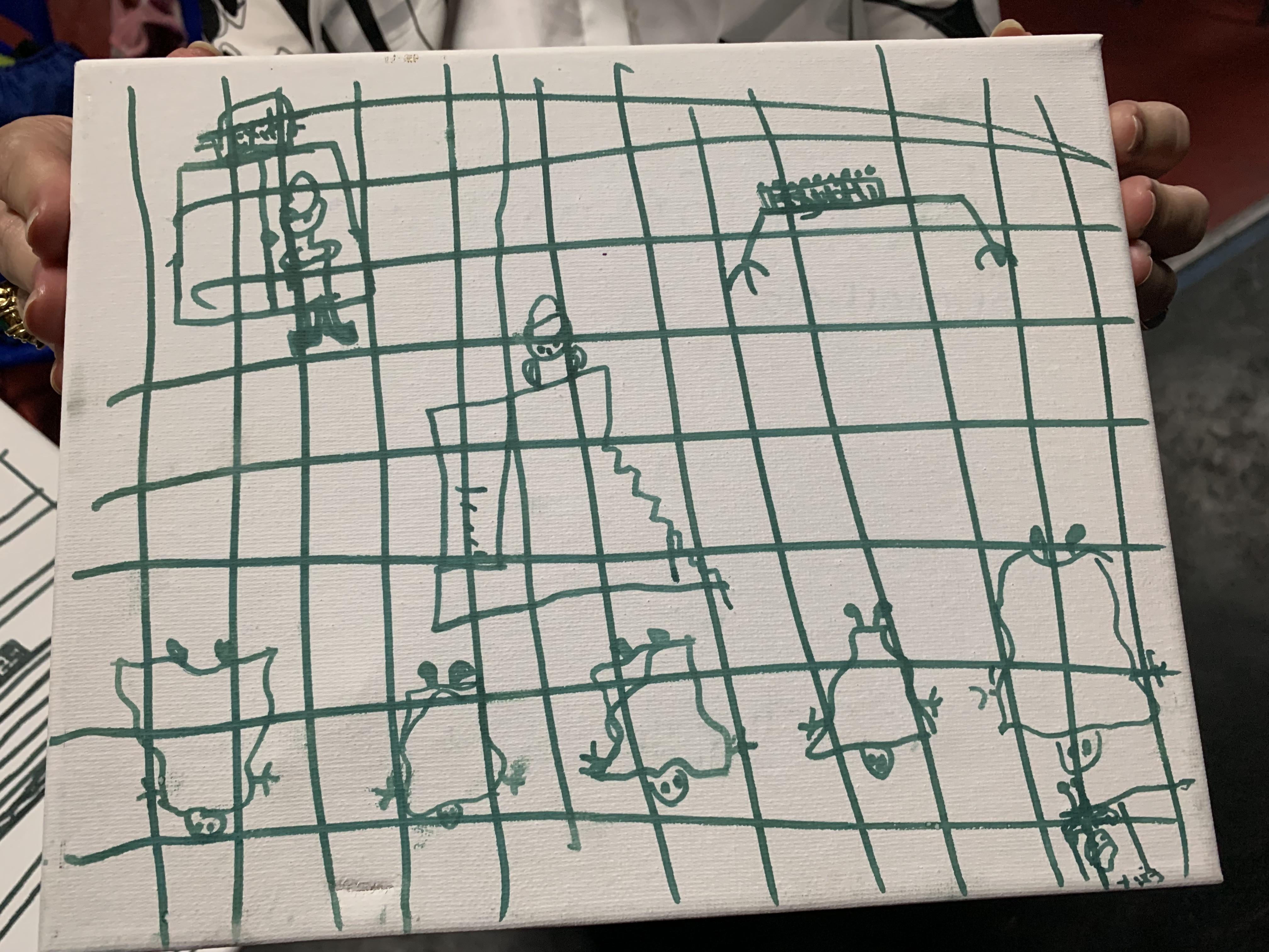 dibujos niños centro de custodia