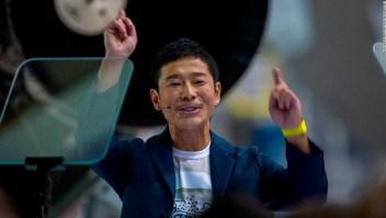 Multimillonario japonés Yusaku Maezawa quiere llevar artistas a la Luna