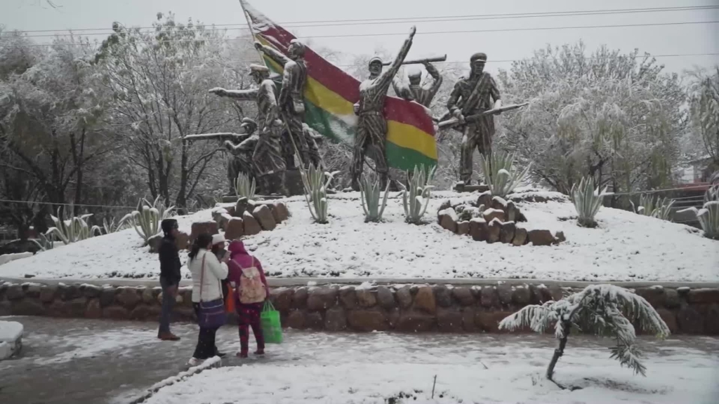 nevadas bolivia inusuales nieve