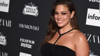 Ashley Graham va a ser mamá
