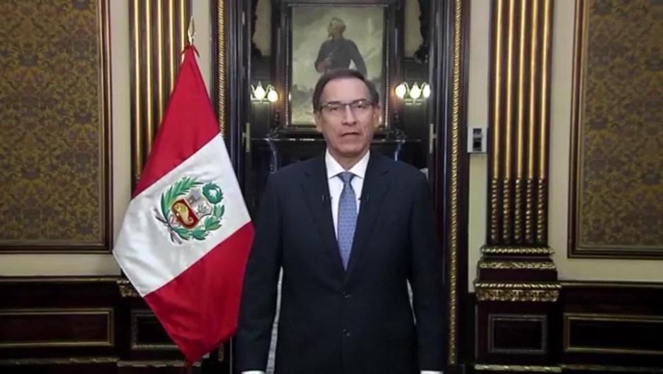 ¿Por qué pidió el presidente de Perú, Martín Vizcarra, que se adelantaran las elecciones?