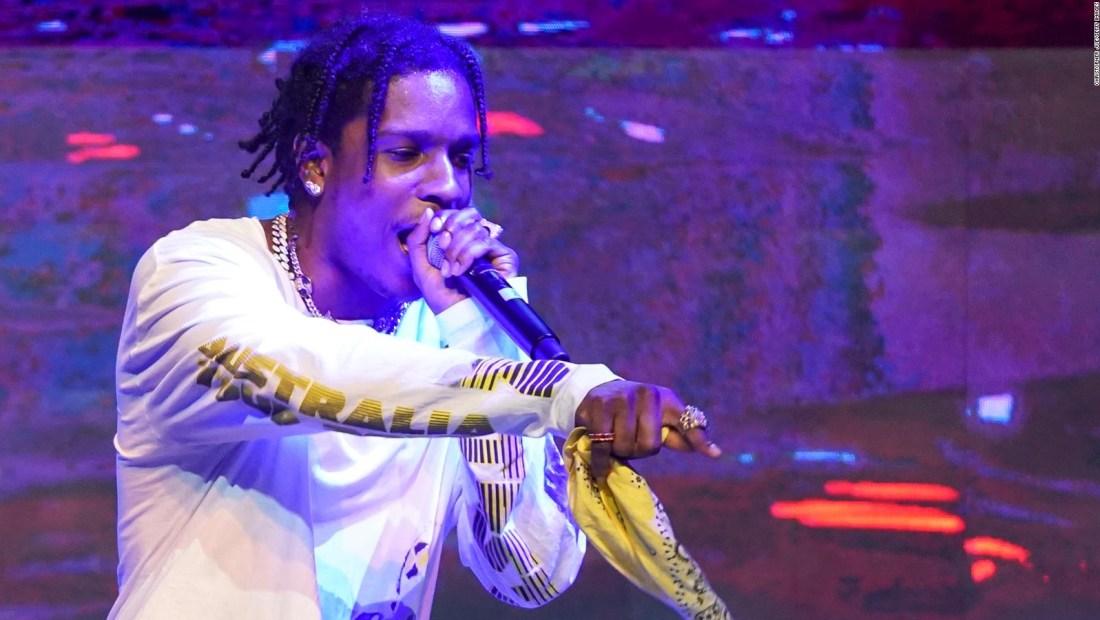 Rapero A$AP Rocky condenado en Suecia