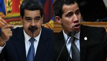 Guaidó y Maduro reaccionan a nuevas sanciones de EE.UU.
