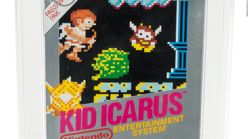 Pagan US$9.000 por juego de Nintendo