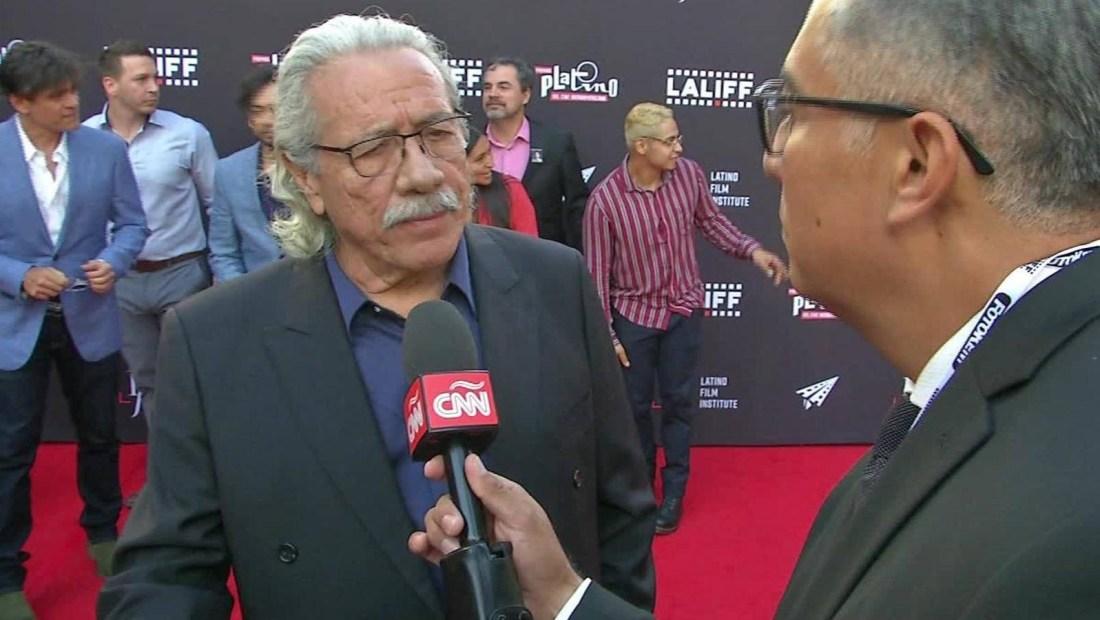 Edward J. Olmos habla de lo difícil de ser latino en Hollywood
