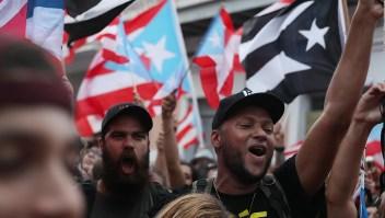 El festejo en Puerto Rico por la renuncia de Rosselló