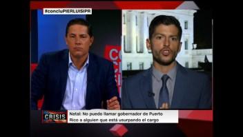 Rep. Manuel Natal no reconoce a Pierluisi como gobernador de Puerto Rico