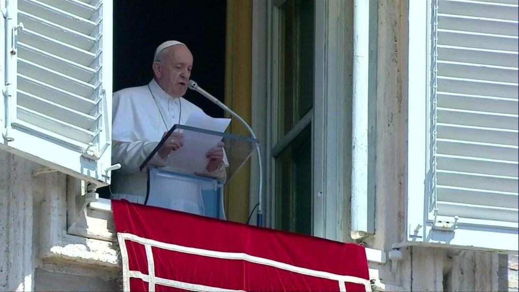 Papa Francisco expresa su pesar por tiroteos en EE.UU.