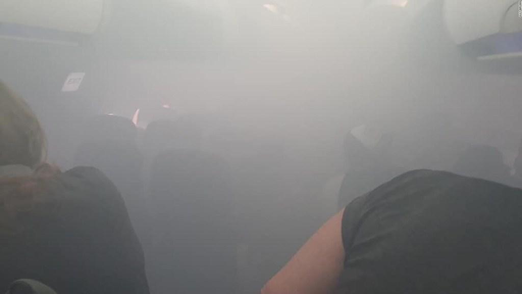 Incendio en vuelo de Londres a Valencia