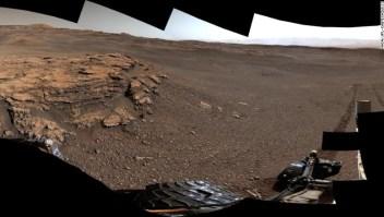 Curiosity, Marte, agua en Marte