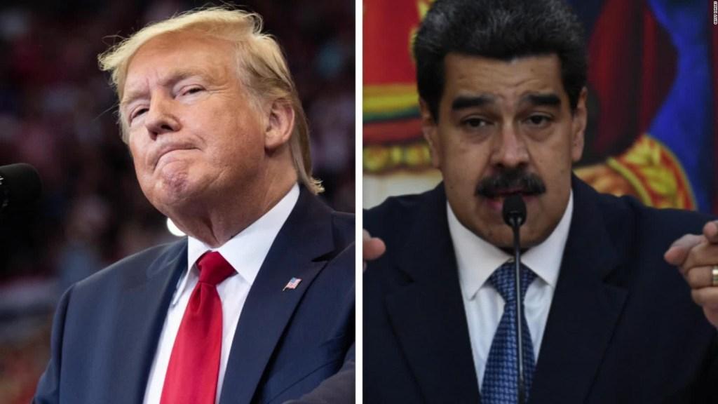 Decreto presidencial de Trump contra el régimen de Maduro