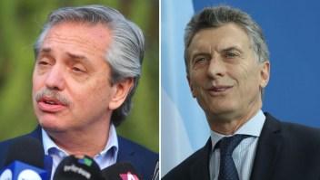 Mauricio Macri y Alberto Fernández a cuatro días de las primarias